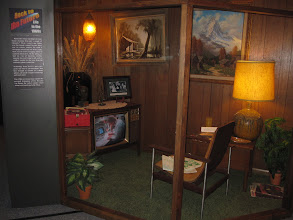 Photo: The 1960s living room, just happened to catch Gene Kranz on the TV...!