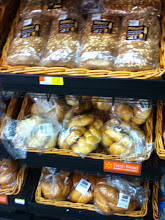 Photo: While they only had two different types of Ecce Panis bread, there was a lot of bread to choose from at Walmart.