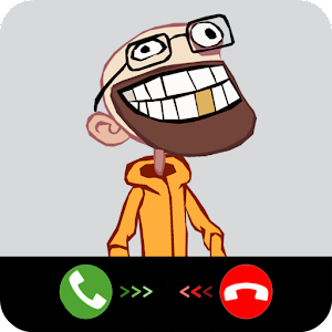 Fake call from troll face