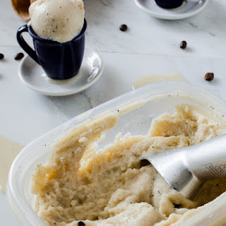Coffee Frozen Kefir (or Coffee Frozen Yogurt)
