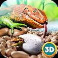 Lizard Simulator 3D icon