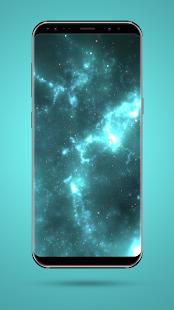 Blue Space Nebula HD - náhled