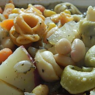 Tortellini White Bean Soup