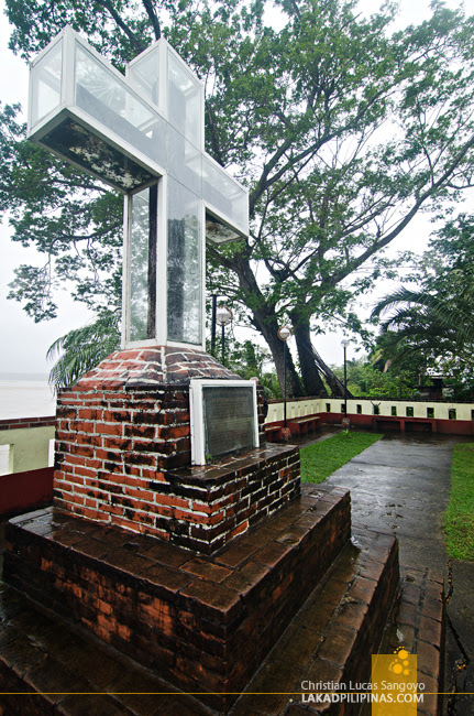 Lal-Lo Church Cagayan Evangilization Cross