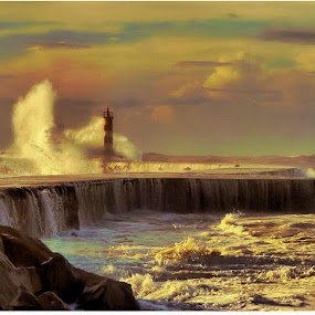 VILA DO CONDE by Ed  von Ems - Landscapes Waterscapes