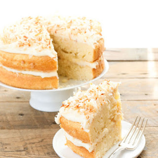 Pineapple Cake with Coconut Frosting