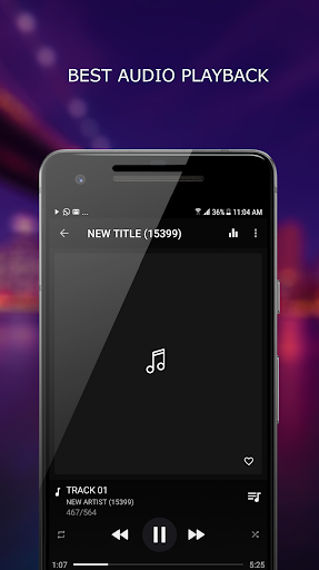 MP3 Player 1.4.5 screenshots 1