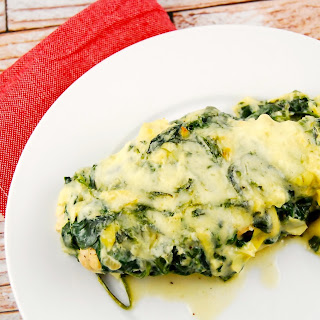 Baked Chicken With Spinach And Cheese Recipes