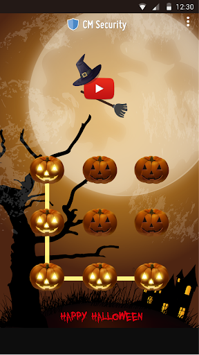 AppLock Theme Halloween screenshot 7