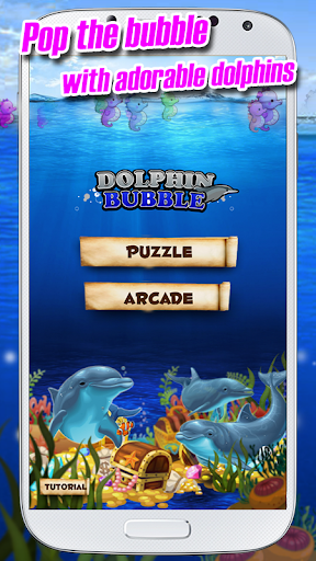Dolphin Bubble Shooter Game