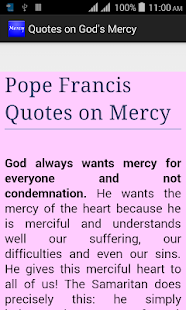 Quotes on God's Mercy- screenshot thumbnail