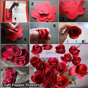 Craft Papper Flowers - náhled