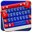 Red Blue Classic Keyboard Theme icon