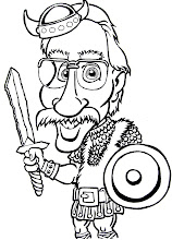 """Photo: My black and white caricature of Mr. Anderson (not the same one in the """"Matrix"""" Triology...)"""