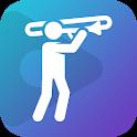 tonestro for Trombone - practice rhythm & pitch icon