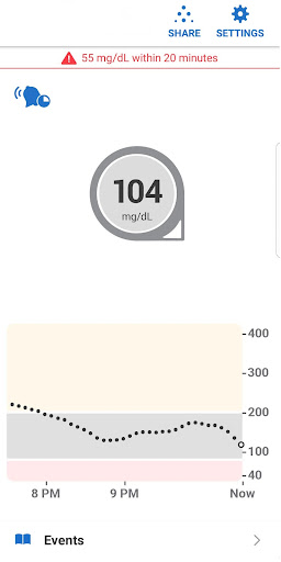 Dexcom G6 1.2.5.2 screenshots 3
