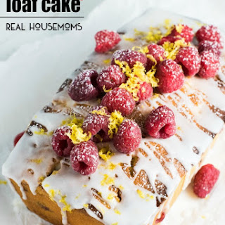 Lemon Raspberry Loaf Cake.