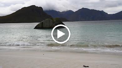 Video: Sandstrand am Fjord