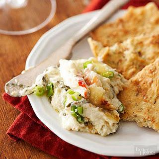 Crab and Horseradish Havarti Dip.