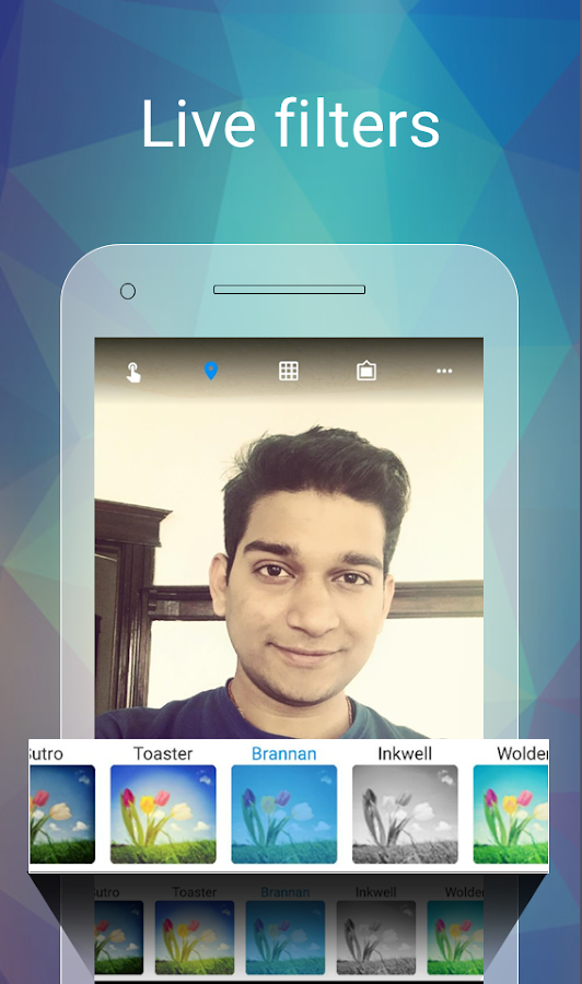 Selfie Flashlight- screenshot