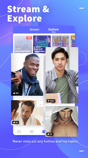 Blued - Gay Video Chat & Live Stream 2.7.4 screenshots 5