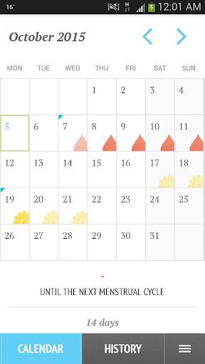 Period28: My female calendar