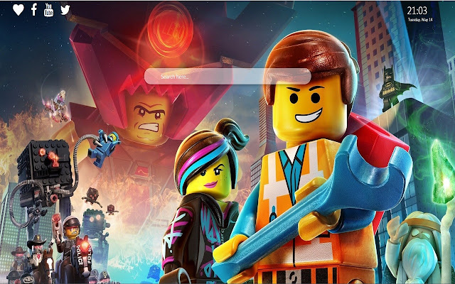 Lego Movie Star Wars Wallpaper New Tab