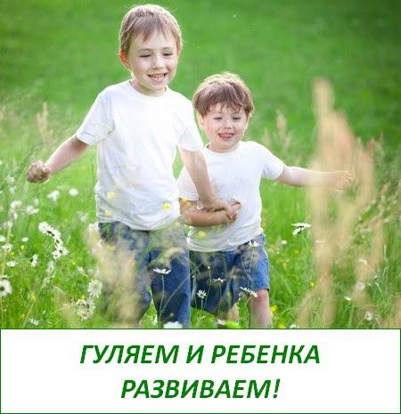 развивающие прогулки гуляем и ребенка развиваем
