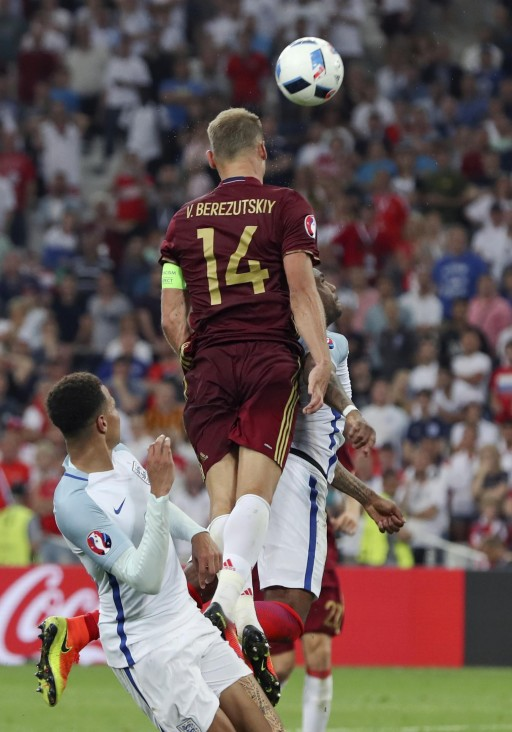 APTOPIX Soccer Euro 2016 England Russia