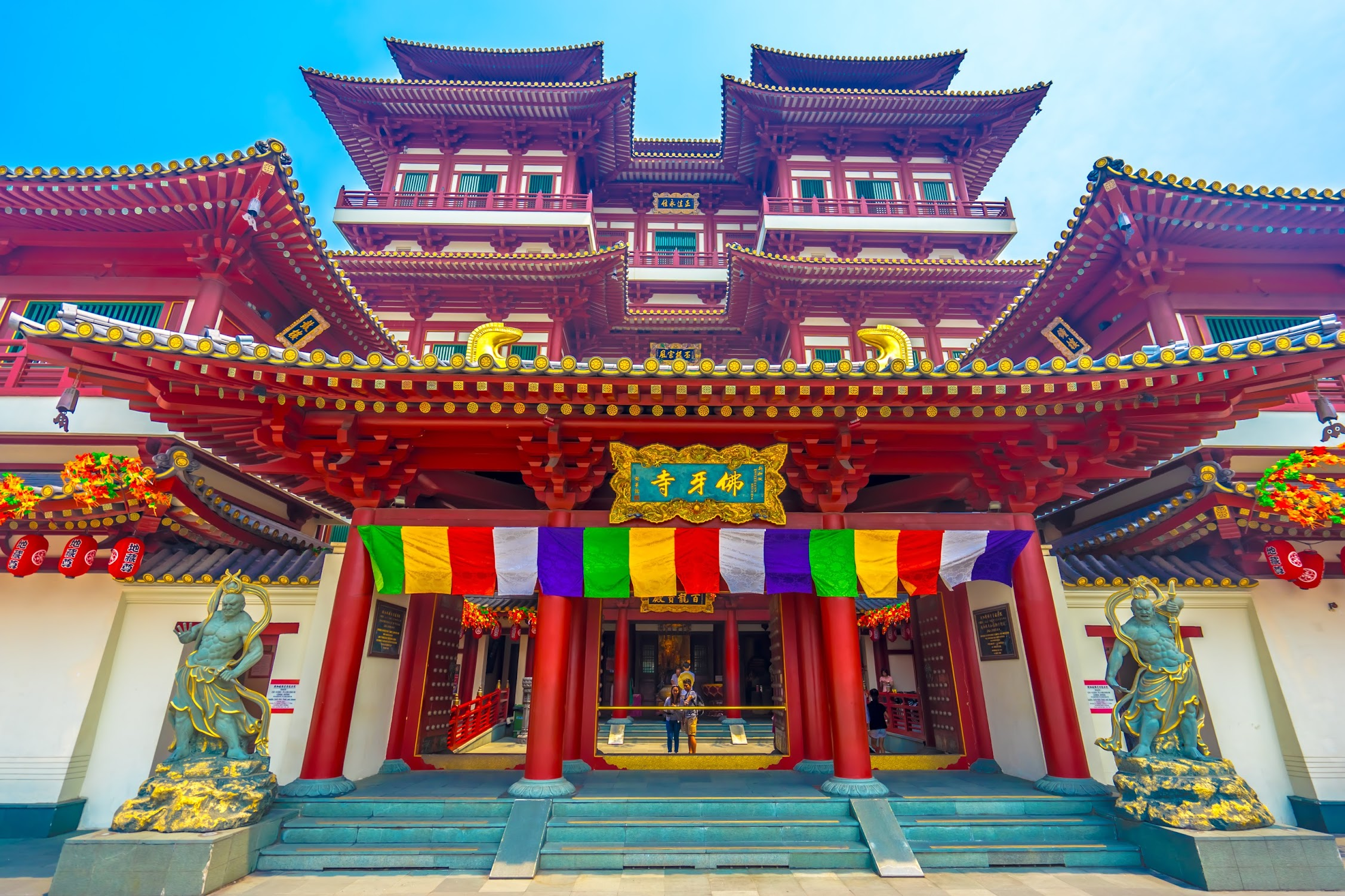 Singapore Buddha Tooth Relic Temple and Museum1