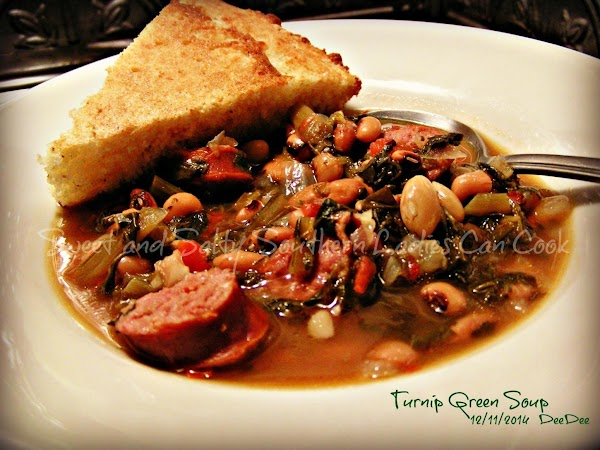 Easy Turnip Green Soup Recipe