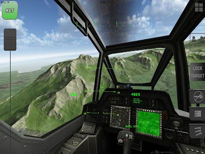 Helicopter Sim Flight Simulator Air Cavalry Pilot  Apk Download For Android and Iphone 4