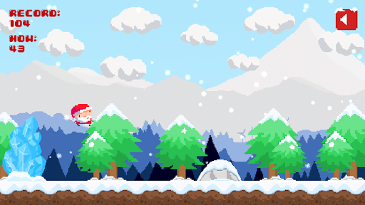 Foto do Santa Pixel Run