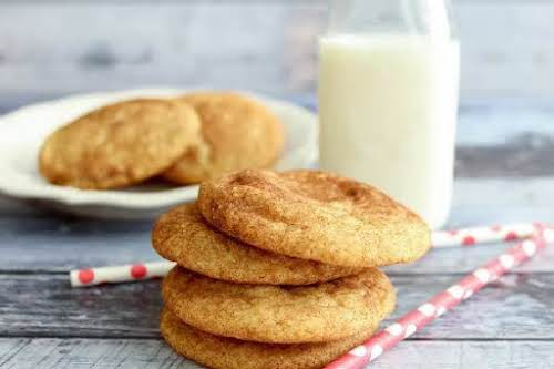 """Snickerdoodles""""Snickerdoodles are my daughter's favorite cookies and one of mine as well...."""