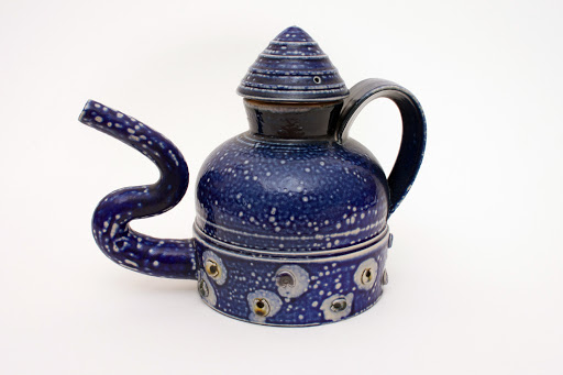 Peter Meanley Ceramic Tea Pot 15