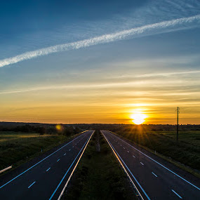 Sky chaser by Miguel  Galvão - Landscapes Sunsets & Sunrises