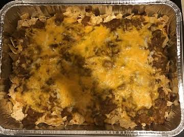 Walking Taco & Taco Salad Had A Casserole
