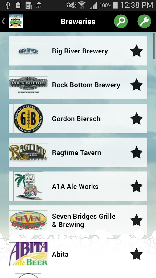 Southern Brewers Festival- screenshot