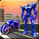 Real Moto Robot Transform: Flying Bike Robot Wars 1.0.16
