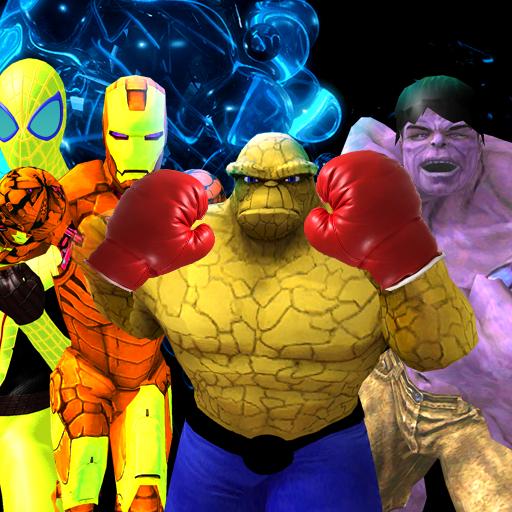 Super Hero Boxing