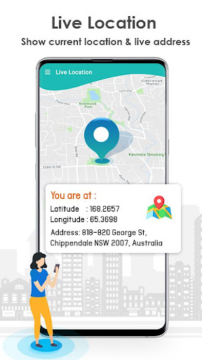 Live Mobile Location & Find Distance screenshot 3