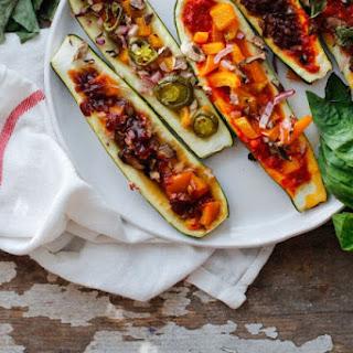 Zucchini Pizza Boats, five ways