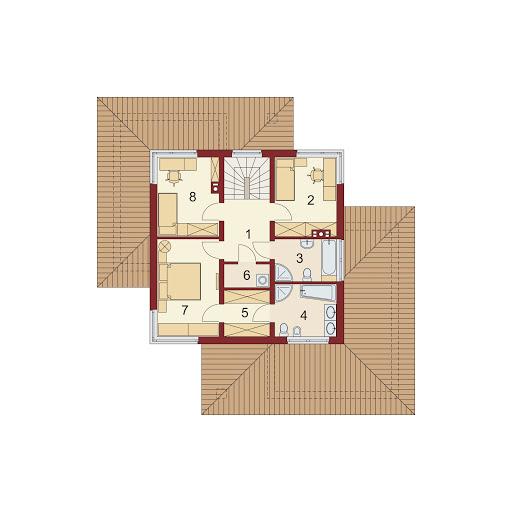 Poliklet 2 - Rzut piętra