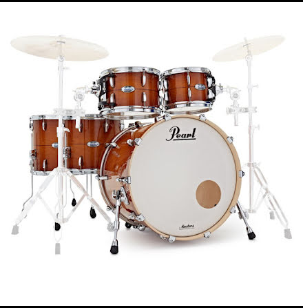 Pearl Masters Maple Complete - MCT925XEP - Almond Red Stripe