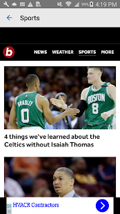 Boston.com- screenshot thumbnail