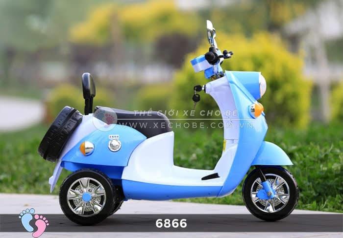 Xe máy điện cho bé Mio 6866 18