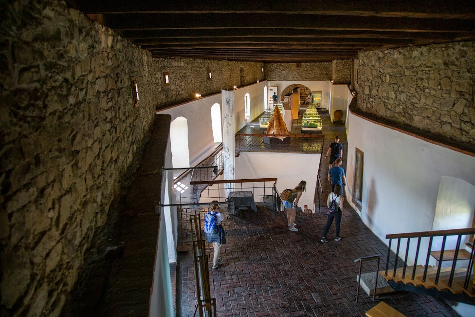 wnętrze Cytadeli na Zamku Orawskim