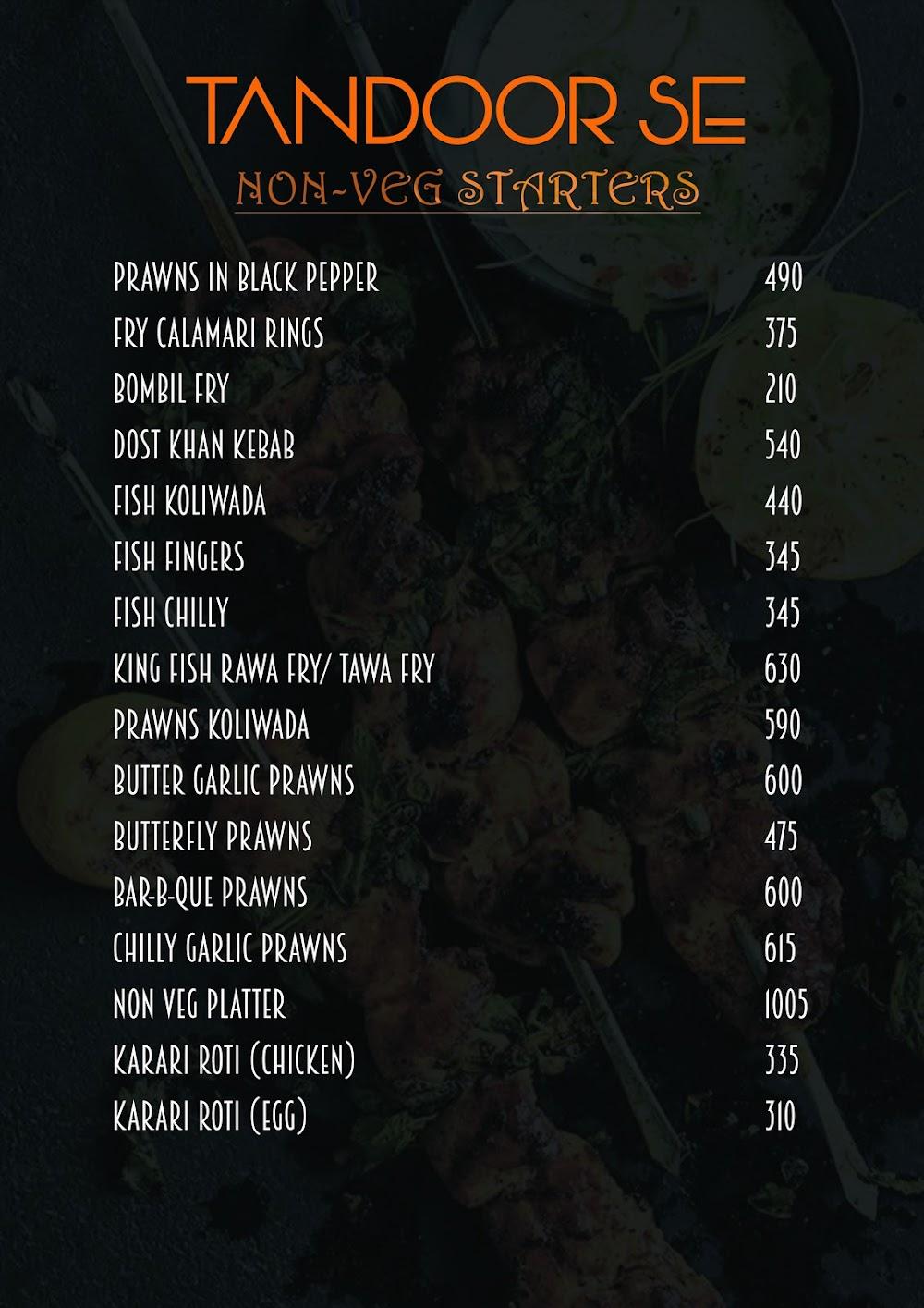 Pakka Local Bar menu 4