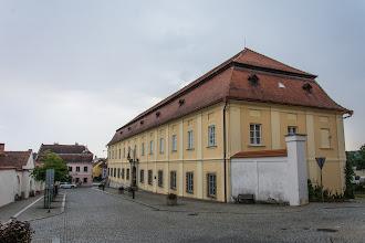 Photo: Chciałem podjechać pod pałac i ruiny zamku, ale nagle lunęło...