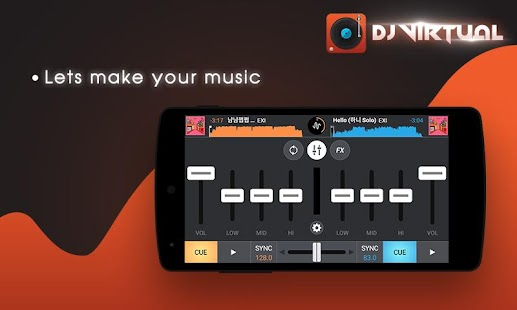 DJ Mixer Player with My Music- screenshot thumbnail